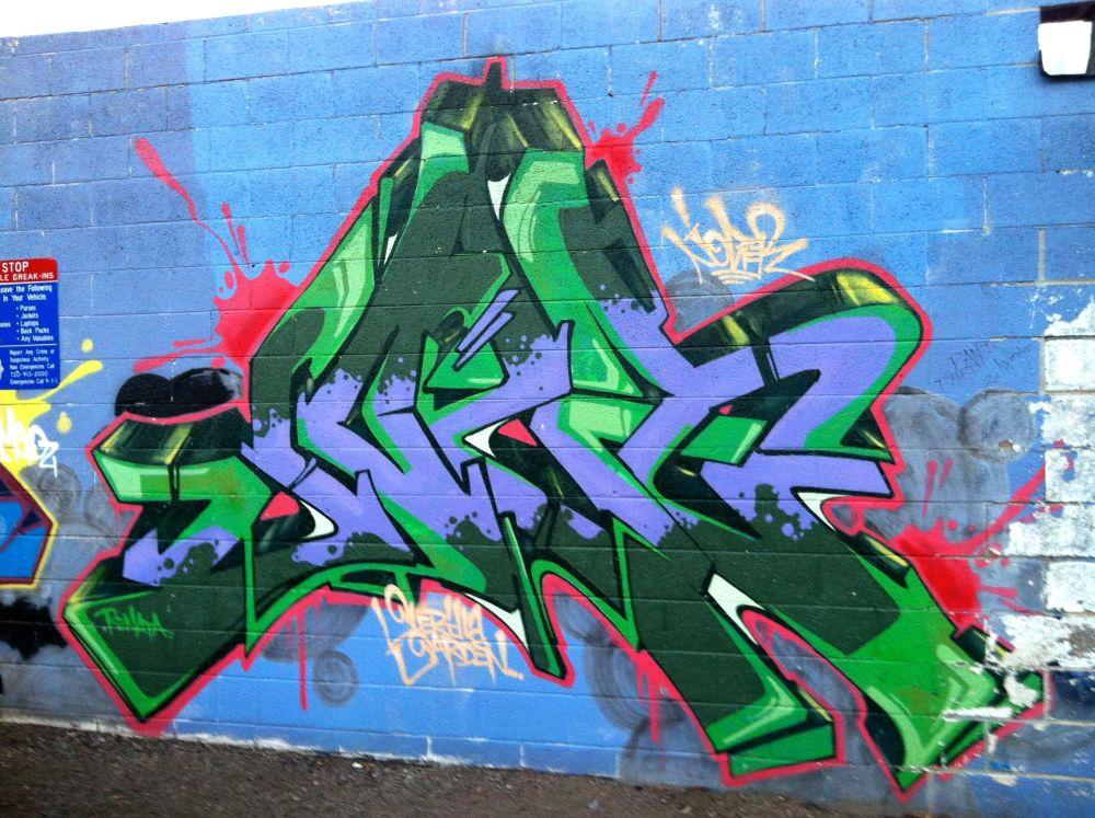 Graffiti: The Highlands, Denver (6/6)