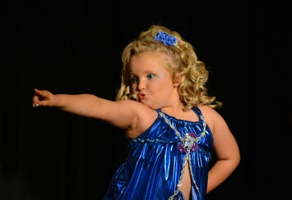 "Exclusive - Alana Thompson Competes in ""The Sparkle & Shine Pageant"""