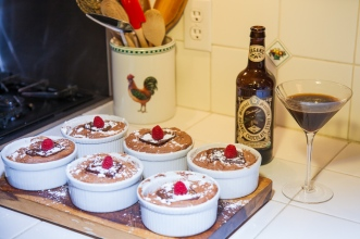 Sam Smith Organic Stout Souffle DONE w. topping