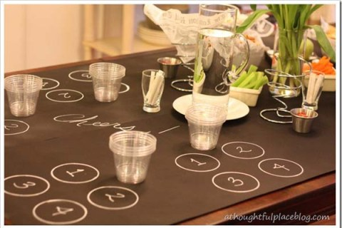 beer-tasting-theme-party-chalkboard-table