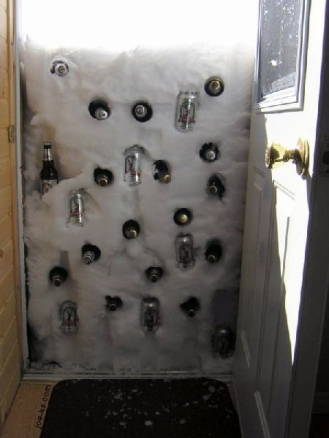 Snow-Beer-Fridge