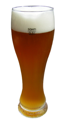 Weizenbier-transparent