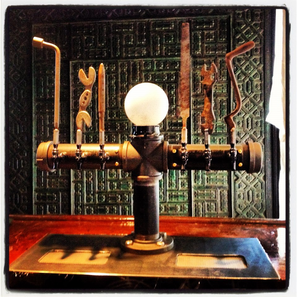 Back Bar Inky Beer