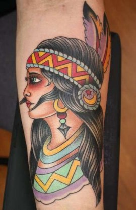 native-american-tattoo-design