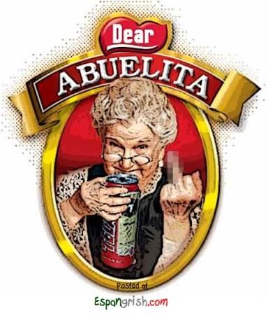 Abuelita-Tomando-Tecate-Funny-Mexican-Grandma-Drinking-Beer