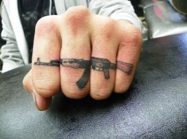 429289703b48d If you had knuckle tats, what would they say/look like? To see more tattoos,  visit KnuckleTattoos.