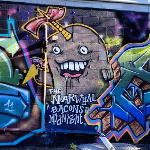bacon-random-graffiti-msu-michigan-simon-prickett