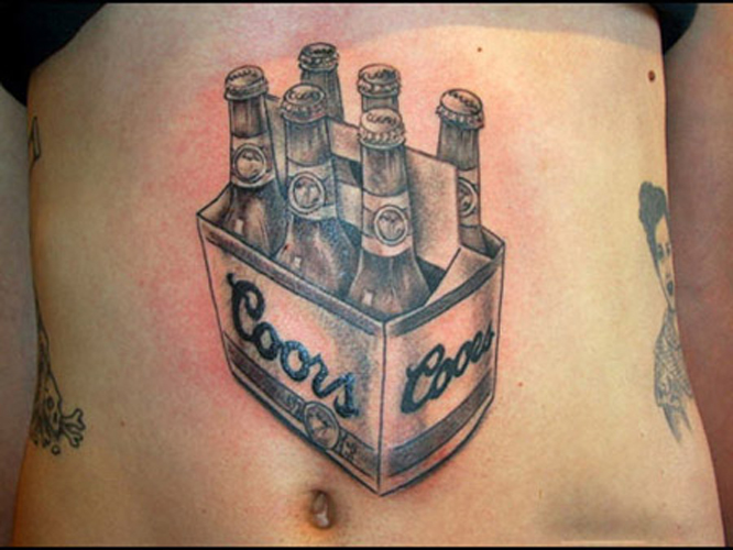 Beer Tattoo 3 Inky Beer