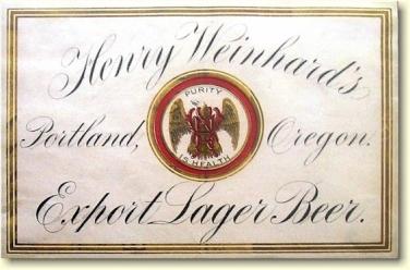H.Weinhard's Export Lager label