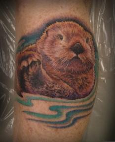 sea-otter-tattoo-by-hayley-lakeman