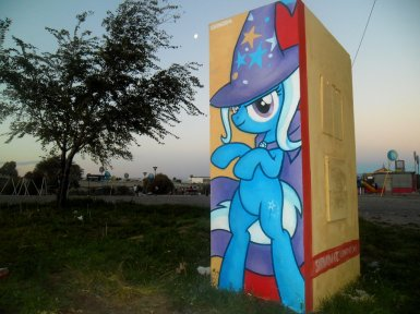 trixie_graffiti_by_shinodage-d633z6v