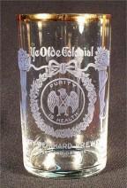 Weinhard Ye Olde Colonial etch glass