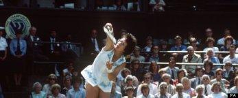 Tennis - Wimbledon Championship- Billie Jean King