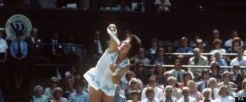 Tennis - Wimbledon Championship- Billie Jean King