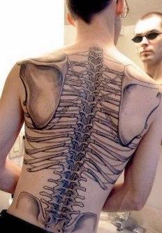 81 A Skeleton Tattoo