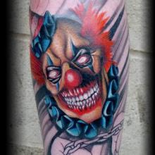 clown-tattoo-ideas-scary-clown-color