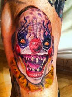Evil-Clown-tattoo-136026