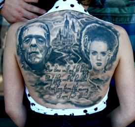 Frankenstein-portrait-back-piece-by-Todo-ABT-Tattoo