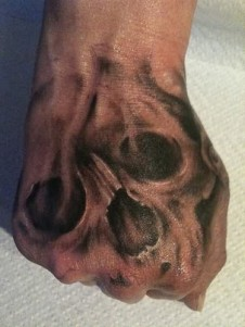 ghost-skull-tattoo-on-hand