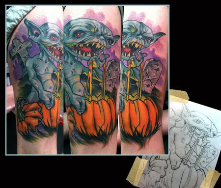 Goblin%20pumpkin%20tattoo,%20Scotty%20Munster