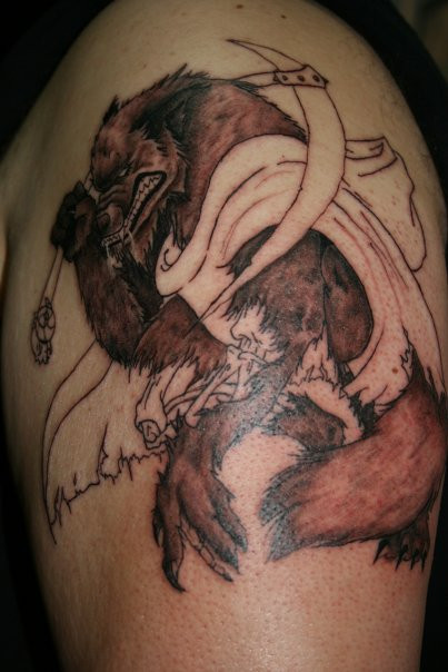 GrimReaper_WereWolf_Tattoo_by_MeghanBeth