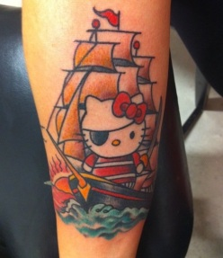 Hello-Kitty-Pirate-Ship-Tattoo-Hello-Kitty-Ink-Kawaii-Tattoo-Blog1
