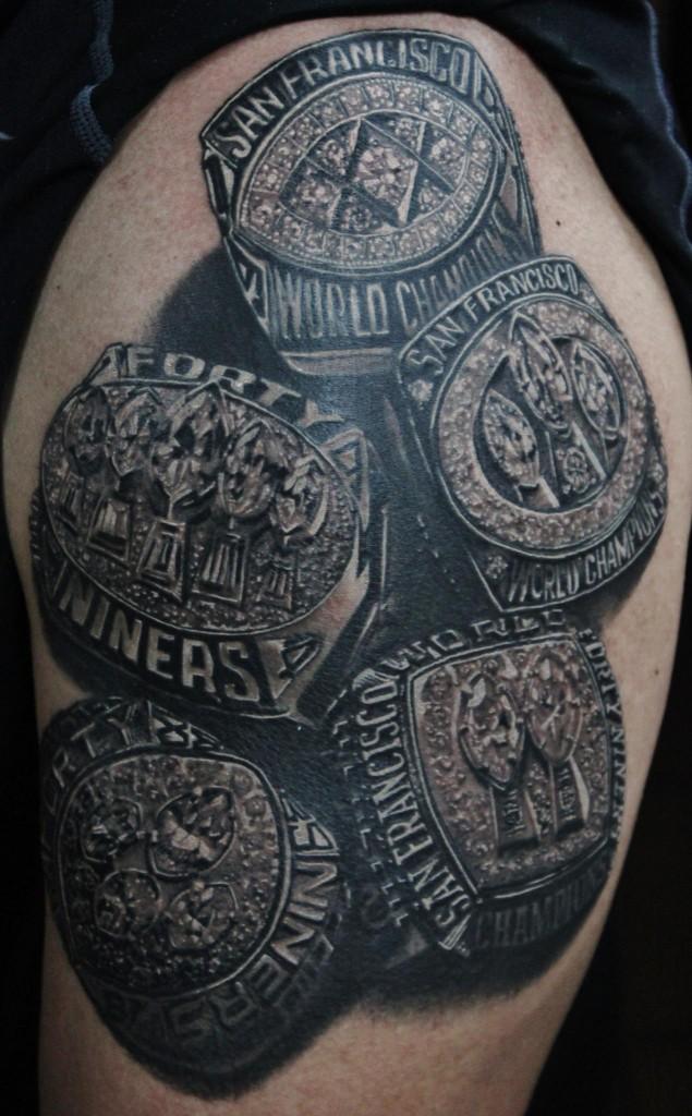 Nfl Tattoos Inky Beer's T...