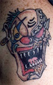lunatic-clown-tattoo