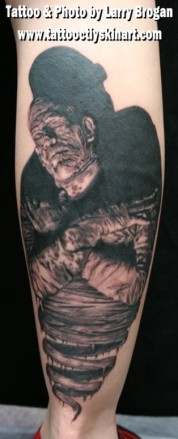 Mummy_Boris_Karloff_Tattoo_By_Larry_Brogan