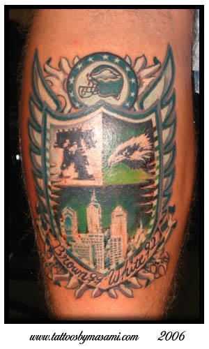 100 philly eagles tattoo picture silver eagle for Philly sports tattoo