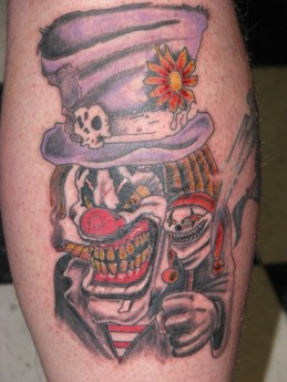 Red-and-Blue-Creepy-Clown-Tattoo