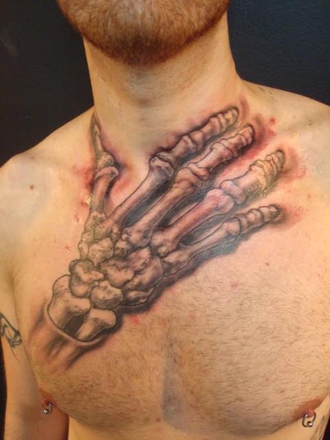 skeleton neck