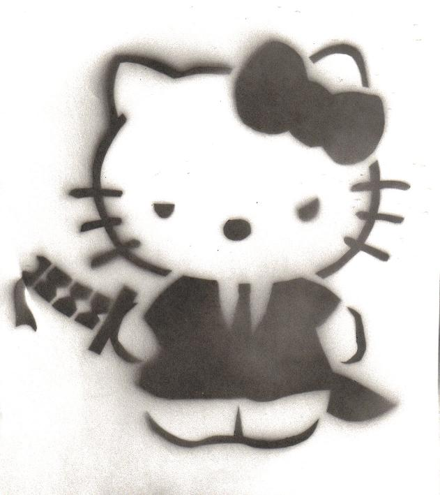 Stencil___hello_kitty_yakuza_by_quietzs