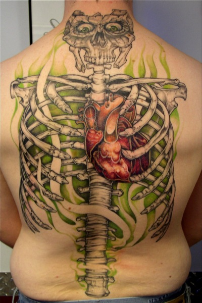 tattoo-back-skeleton