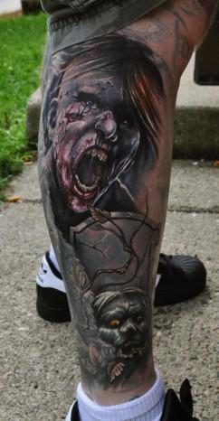 Tatuagem-de-Zumbis