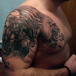 werewolf_1___tattoo_by_mojotatboy-d3b8yeh