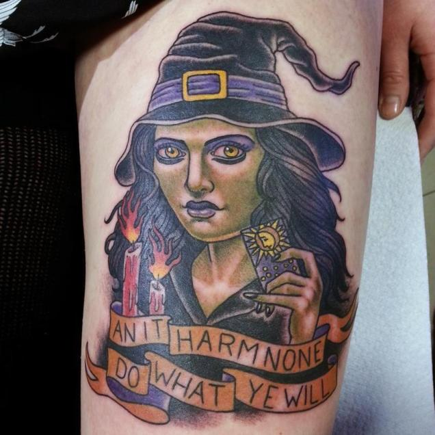 witch-tattoo