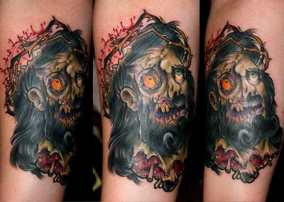zombie tattoo 2