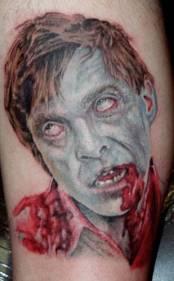 Zombie-tattoo
