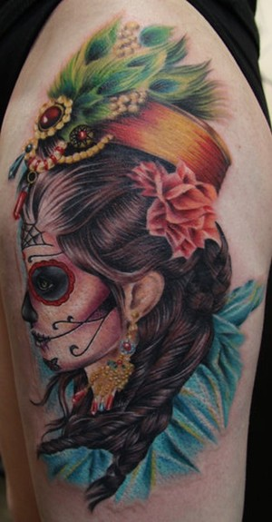 day-dead-girl-tattoo