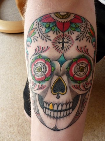 Day_of_the_dead_tattoo_by_Springnando