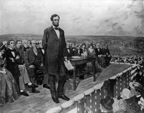 drawing-lincoln-gettysburg-address
