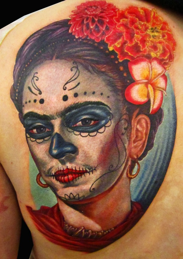 frida-day-of-the-dead