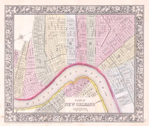 1864_Mitchell_Map_of_New_Orleans,_Louisiana_-_Geographicus_-_NewOrleans-m-1864