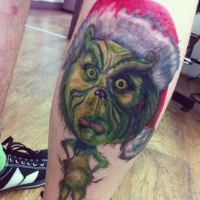 Grinch-tattoo