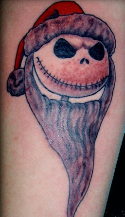 Jack-Skellington-Christmas-Tattoo