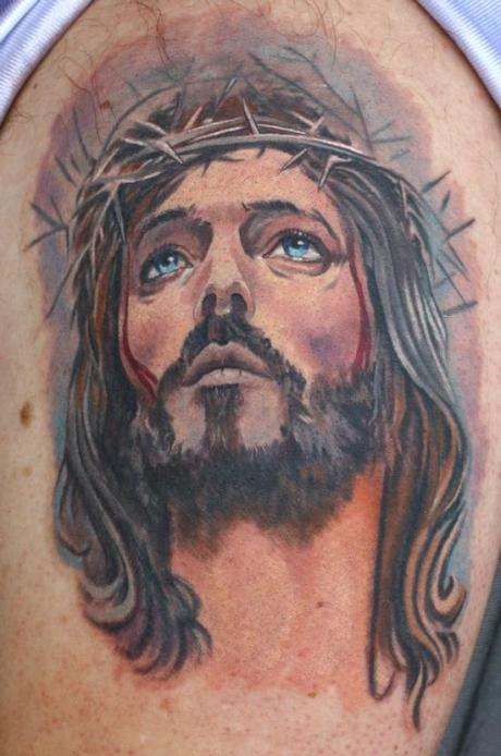 Jesus-Tattoo-by-Todo-ABT-Tattoo