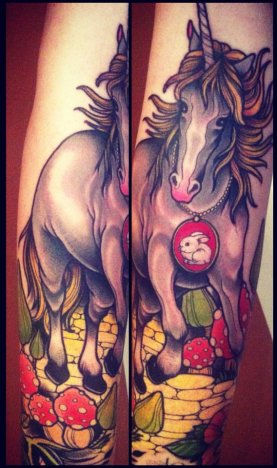 Annie-Frenzel-Unicorn-Tattoo