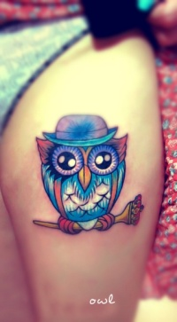 Owl-With-Hat