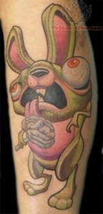 zombie-rabbit-tattoo